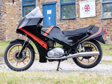 Vergeten Prototype: Triumph TS8-1