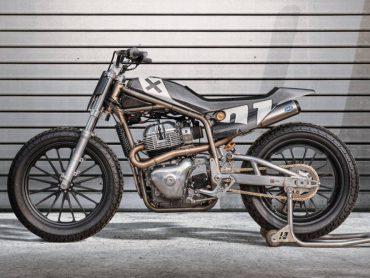 Royal Enfield en Harris Performance ontwikkelen 750cc Flat Track