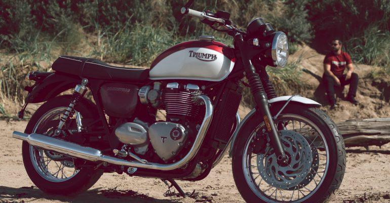 Triumph Bonneville Bud Ekins T120 SE
