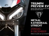 8 December: Triumph Preview Event