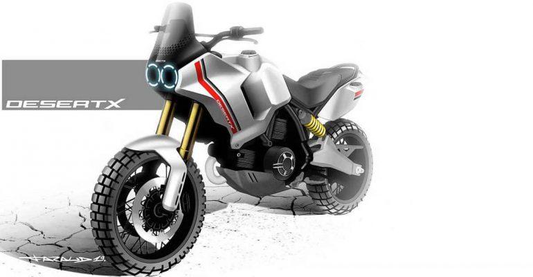 Verrast Ducati met 1100cc Desert X Scrambler?