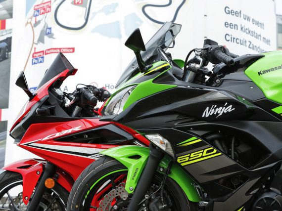 Vergelijkingstest: Honda CBR500R vs Kawasaki Ninja 650
