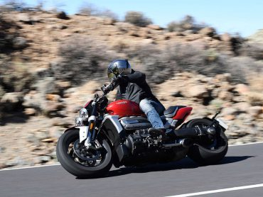 Triumph Rocket 3 2019 Test