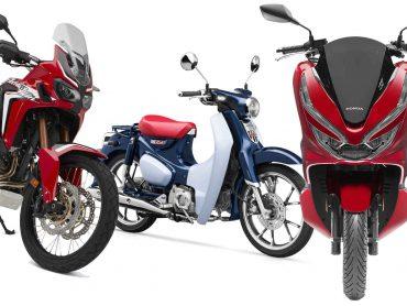 Mijlpaal: Honda heeft 400 miljoen motoren en scooters gebouwd