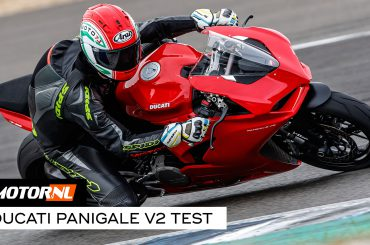 Ducati Panigale V2 2020 test