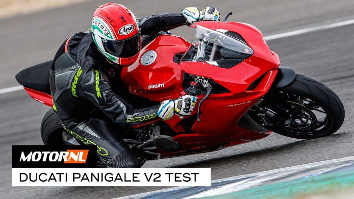 Ducati Panigale V2 2020 test