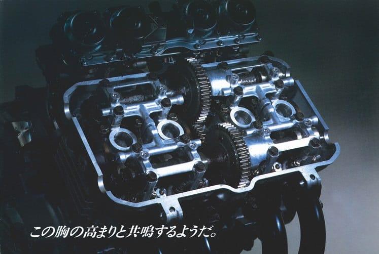 Honda CBR400RR tandwiel aangedreven kleppen