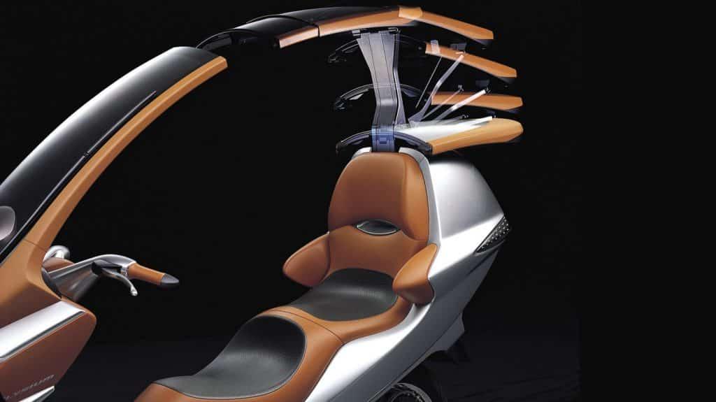 De Honda Elysium cabrio-scooter