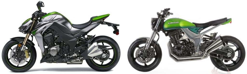 Kawasaki Z1000 en Z1000 40th Anniversary