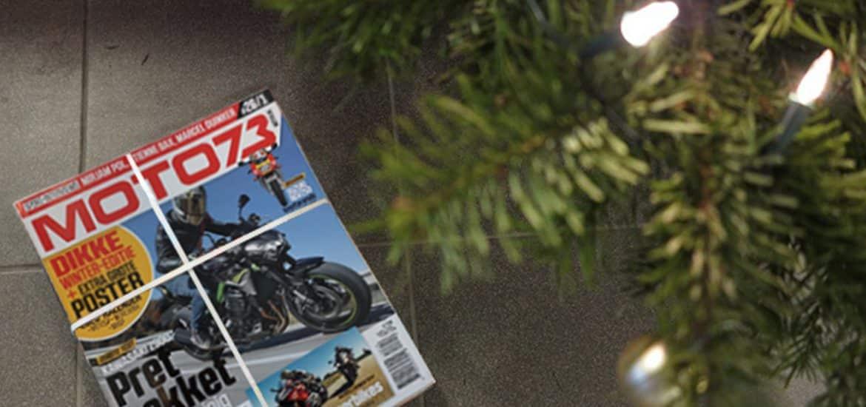 MOTO73 onder kerstboom