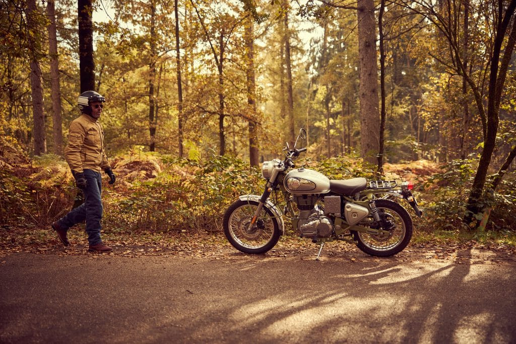 Royal Enfield Trials Works Replica