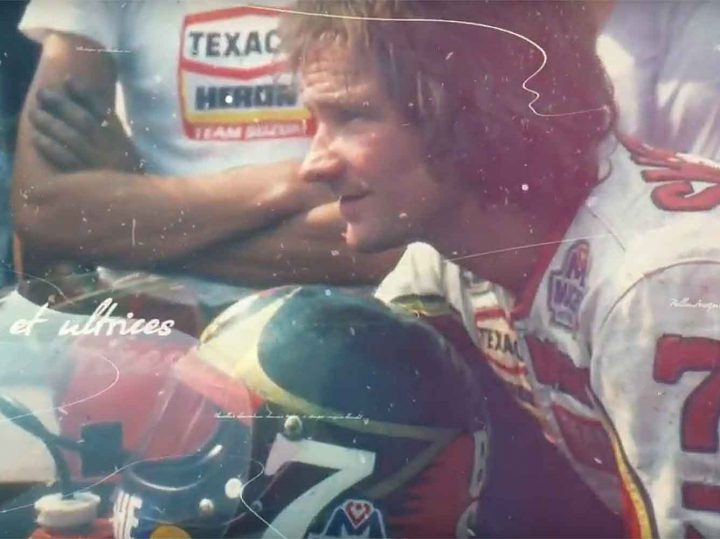Video: Restauratie drie Suzuki's van Barry Sheene