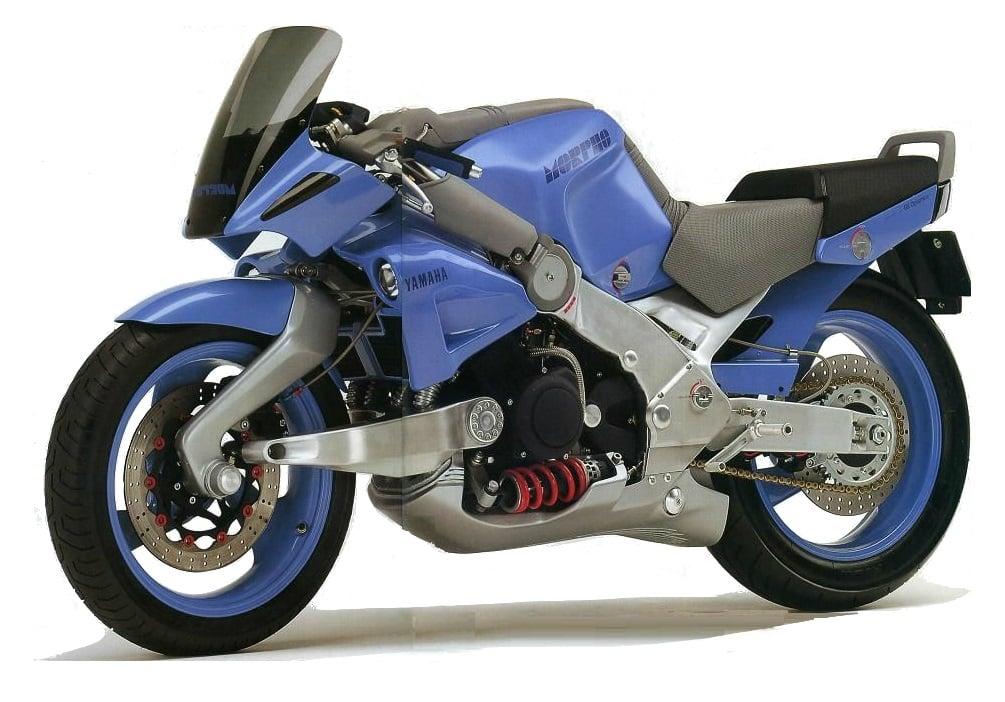 Yamaha MORPHO driekwart