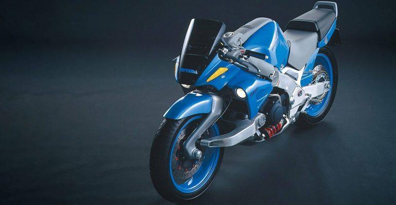 Vergeten Prototype: Yamaha MORPHO
