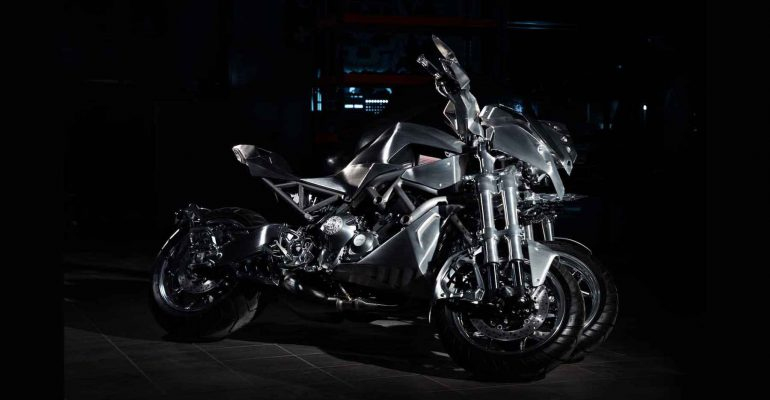 Yamaha Niken wint Craziest Bike Award