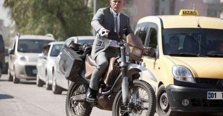 Alle motoren waarop James Bond reed