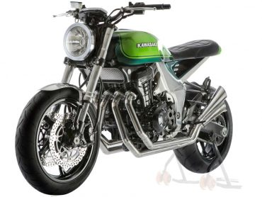 Vergeten Prototype: Kawasaki Z1000 40th Anniversary Concept