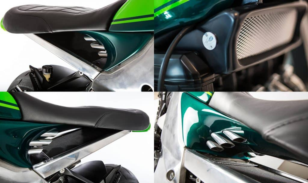 Kawasaki Z1000 40th Anniversary Inlaat en koeling