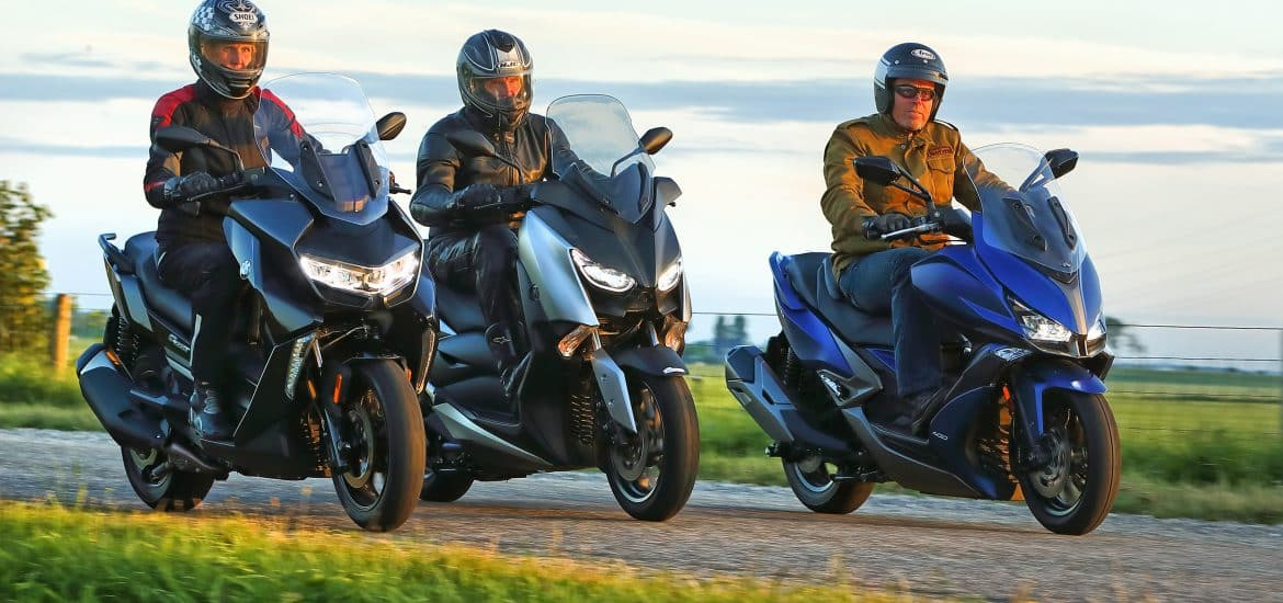 middenklasse toerscooters 2019 bmw c400gt vs kymco Xciting S 400 vs yamaha xmax400 (4)