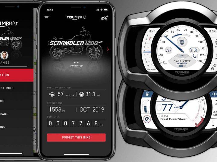 My Triumph Connectivity System vandaag – 16 december – leverbaar