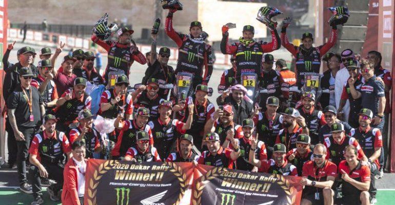 Saudi-Arabië betekent keerpunt voor Dakar, Honda en KTM