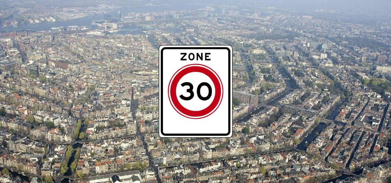 Amsterdam 30 km zone