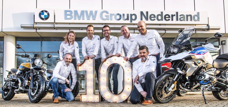 BMW Tien jaar