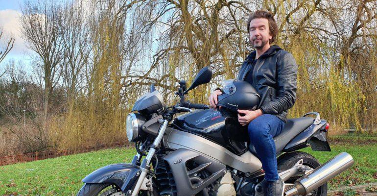 Boudewijn Geels – Rockheld op motor