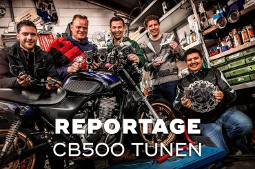 Honda CB500-motoren tunen als hobby