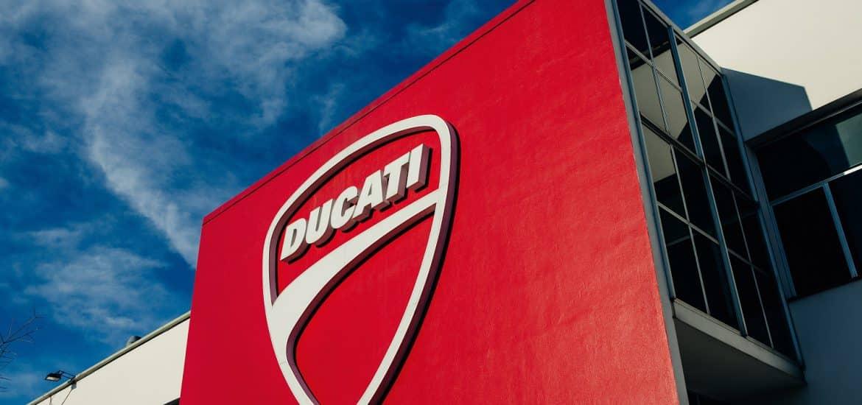 De Ducati-fabriek in Bologna.