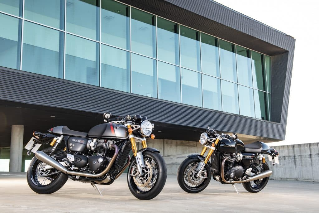 Triumph Thruxton RS 2020 intro