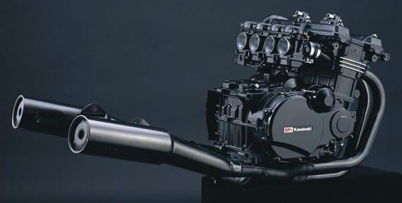 Kawasaki GPZ900R motorblok