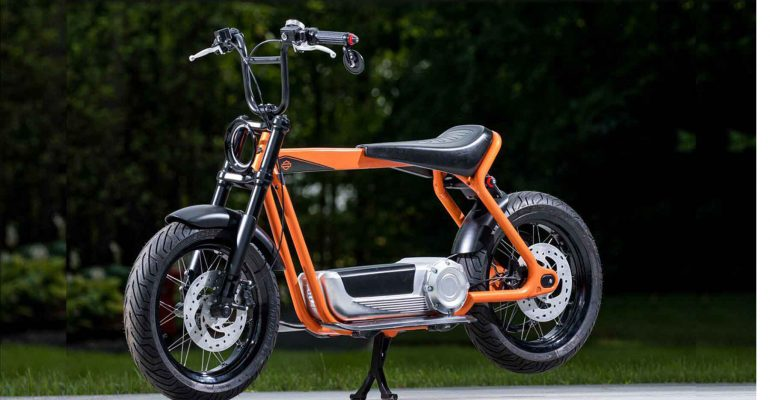 Is Harley-Davidson straks als scooter bij de dealer?