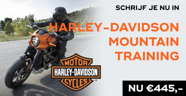 Harley-Davidson Bergtraining