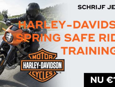 Harley-Davidson Spring Safe Rider Trainingen (On-Hold tot 1 juni – Mail deelnemers volgt)