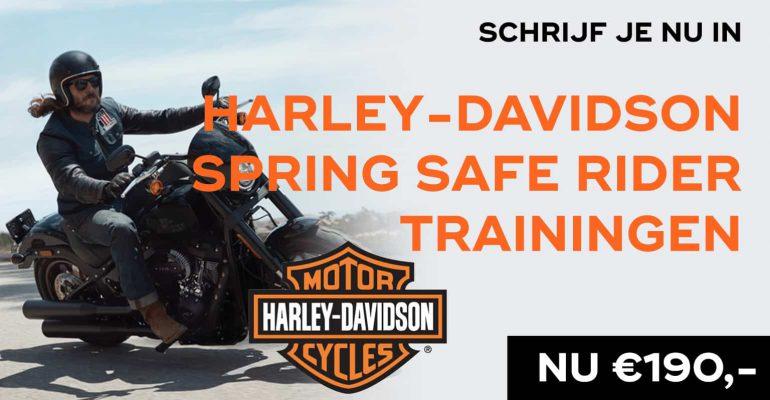 Harley-Davidson Spring Safe Rider Trainingen