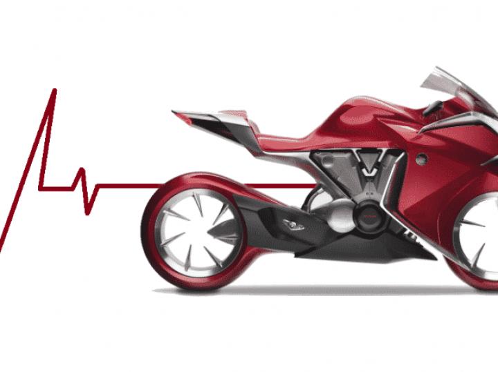 Vergeten Prototype: Honda V4 Concept