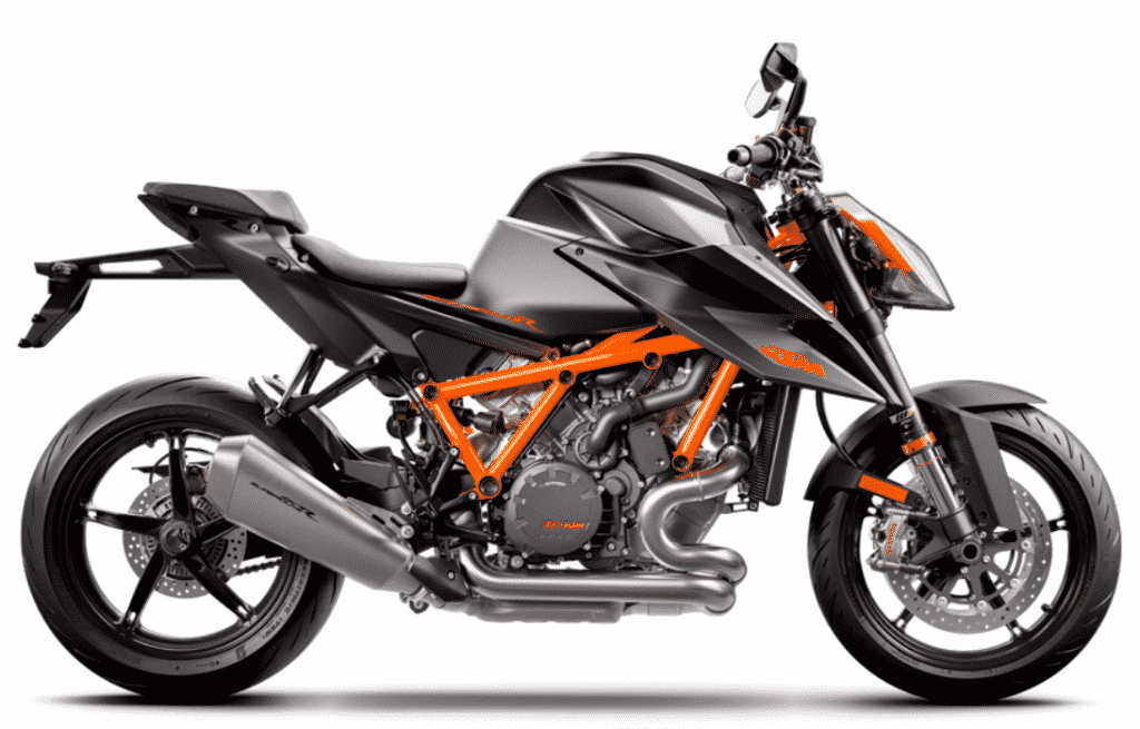 KTM 1290 Super Duke R zwart