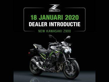 Kawasaki Z900 krijgt landelijke dealerintroductie