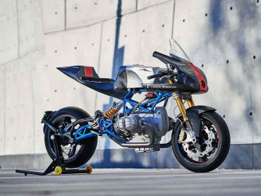 Scott Kolbs BMW R90/6 is eerbetoon aan vroege BoTT-racers