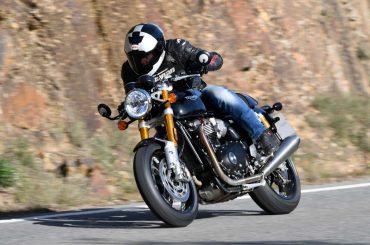 Test Triumph Thruxton RS 2020