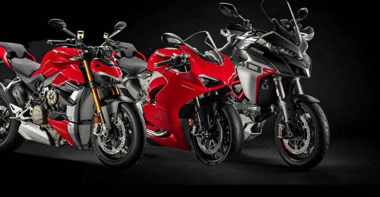 Ducati met heel veel modellen op MOTORbeurs Utrecht