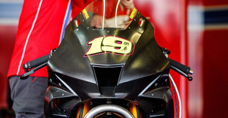 Bovenop de WSB 2020 Honda Fireblade