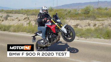 Test BMW F 900 R 2020