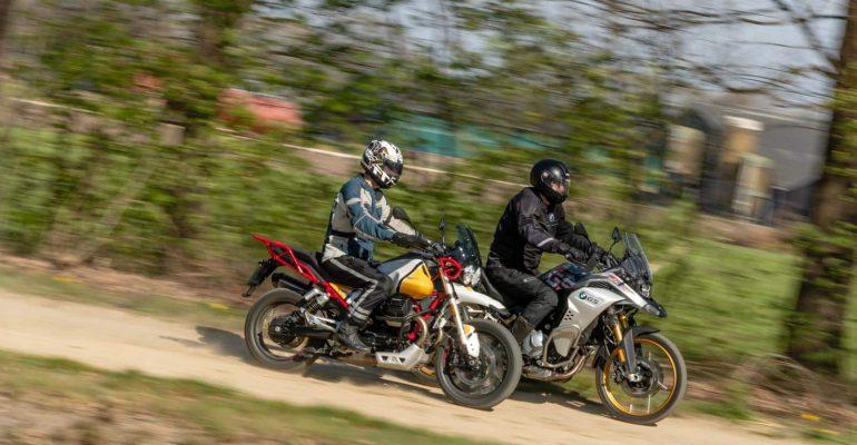 Dubbeltest: Moto Guzzi V85 TT vs BMW F850GS Adventure