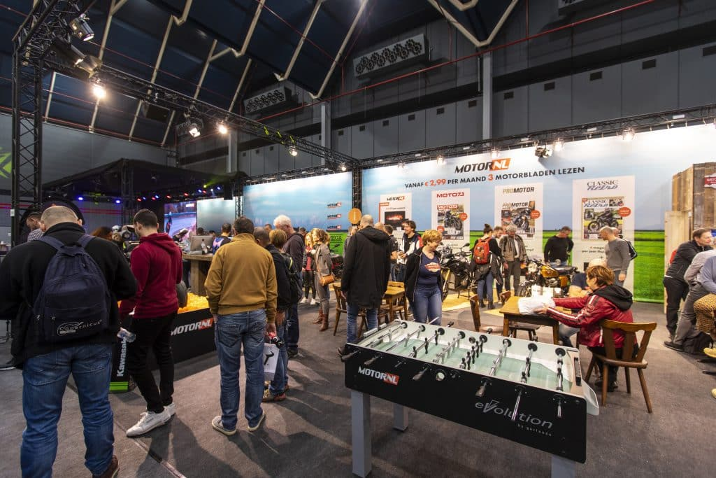 MotorNL stand Motorbeurs Utrecht 2020