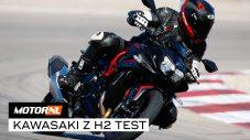 Kawasaki Z H2 test