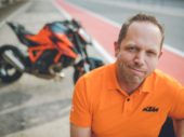 Interview Adriaan Sinke, product marketing manager bij KTM