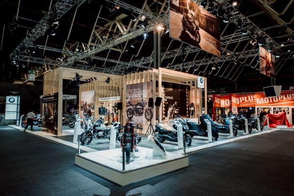 De stand van BMW op MOTORbeurs Utrecht 2019