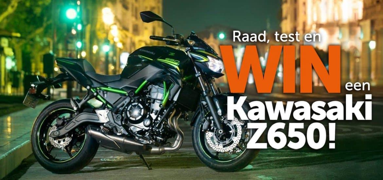 Winactie Kawasaki Z650 2020
